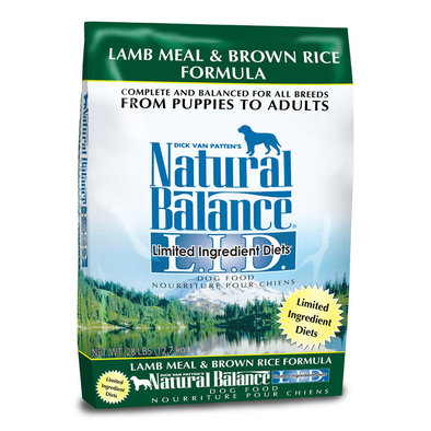 Natural Balance, Limited Ingredient Diets, Lamb Meal & Brown Rice