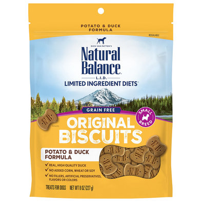 Limited Ingredient Dog Treats, Potato & Duck