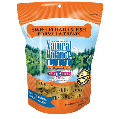 Limited Ingredient Dog Treats, Sweet Potato & Fish