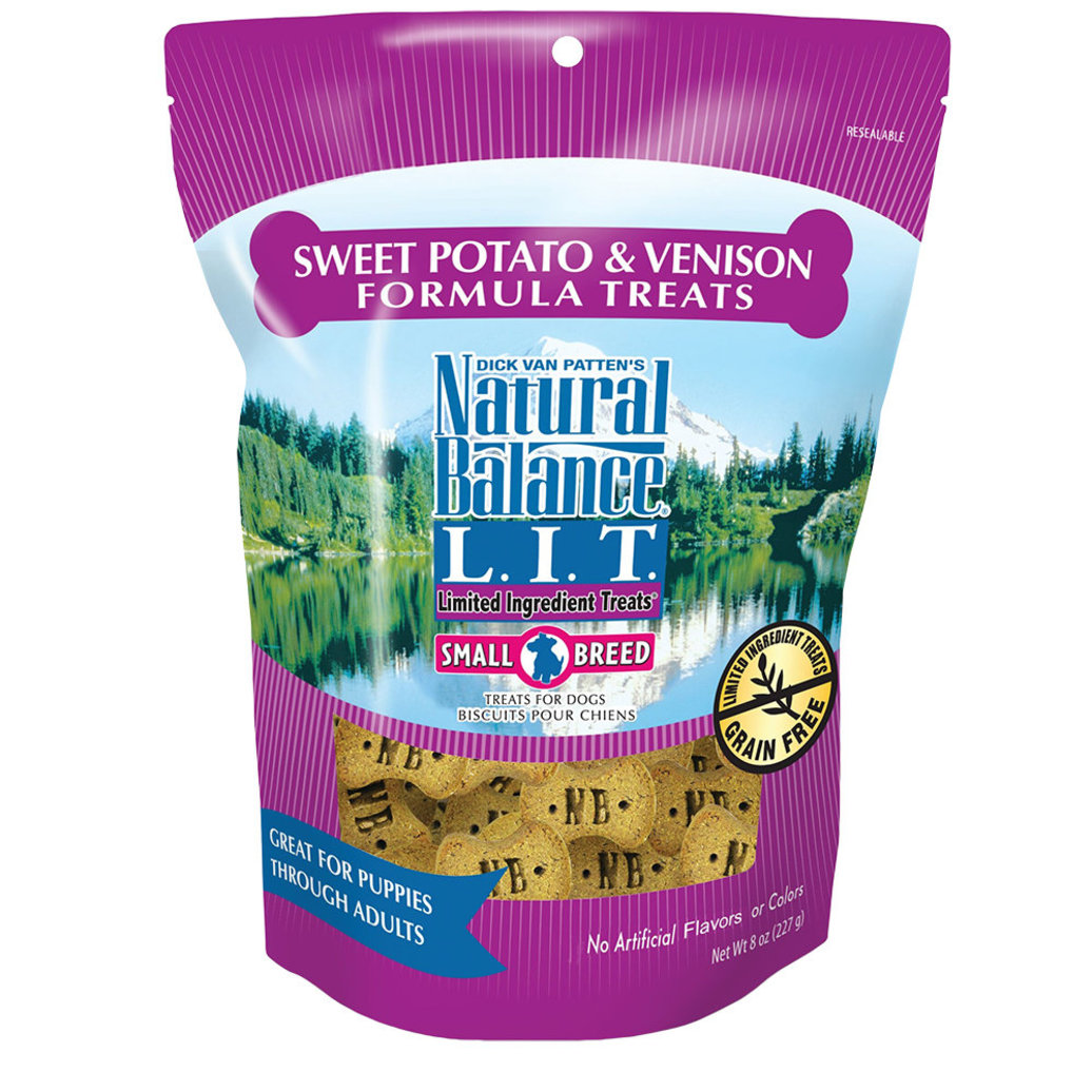 View larger image of Limited Ingredient Dog Treats, Sweet Potato & Venison