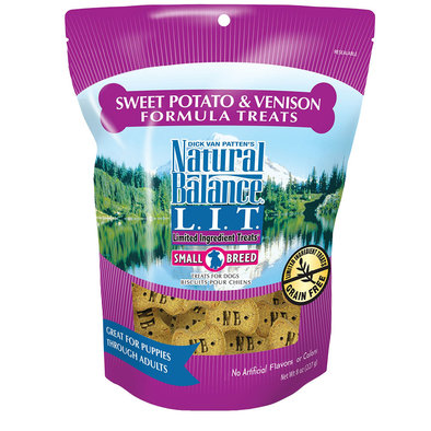 Limited Ingredient Dog Treats, Sweet Potato & Venison