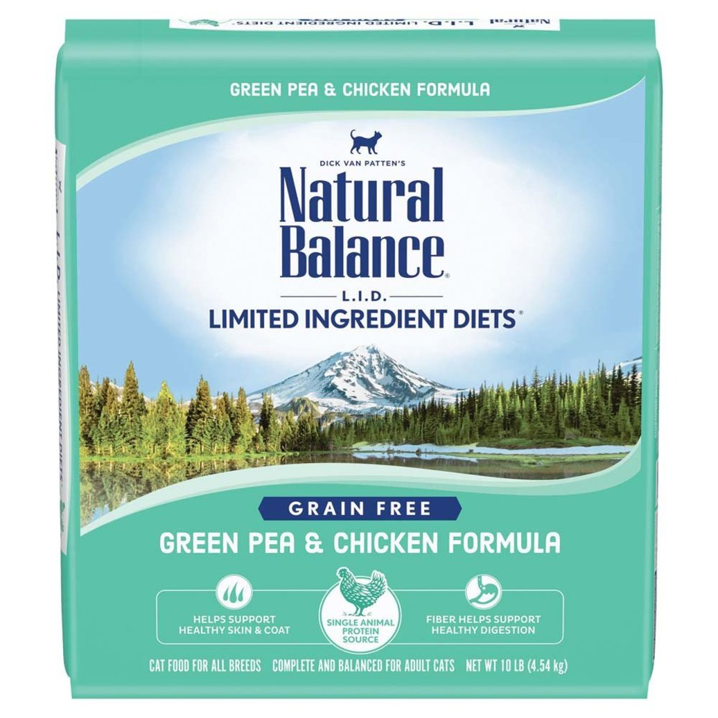 View larger image of Limited Ingredient Dry Cat Formula, Green Pea & Chicken