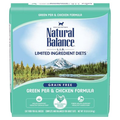 Limited Ingredient Dry Cat Formula, Green Pea & Chicken