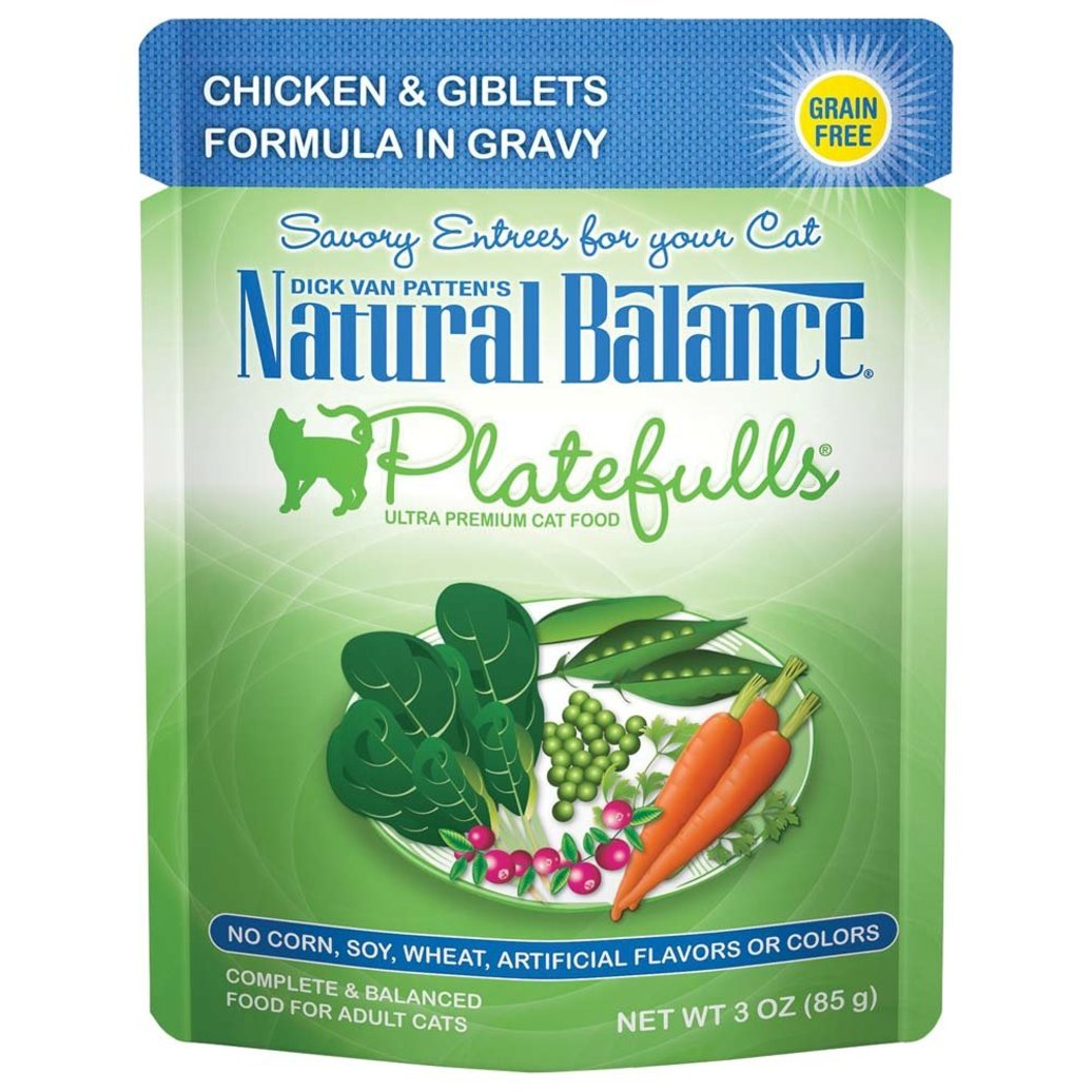 View larger image of Platefulls Cat Pouch, Turkey, Chicken & Giblets in Gravy - 85 g