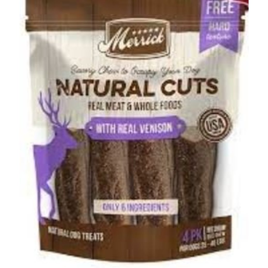 View larger image of Natural Cuts w/ Venison - Medium Chew - 4 ct