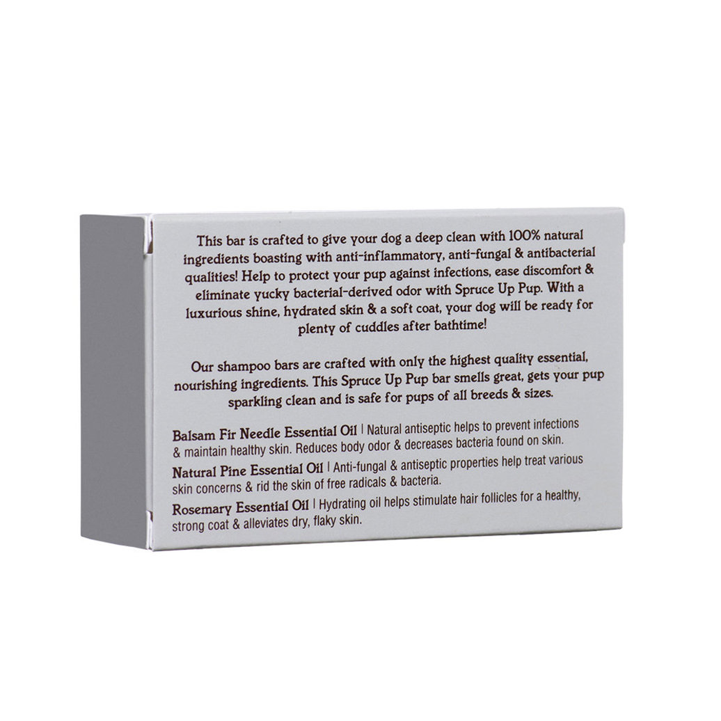 View larger image of Spruce Up Pup Bar Soap - 4 oz