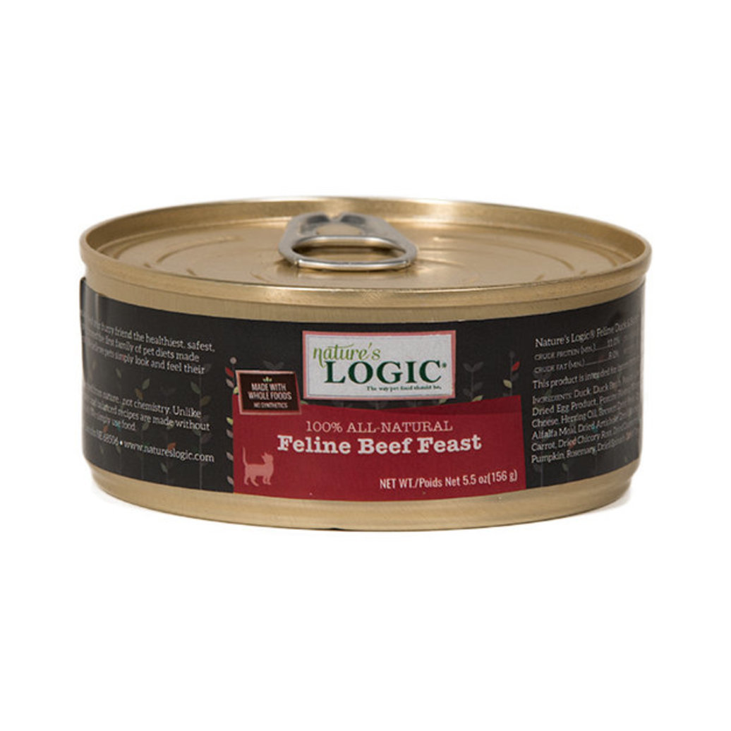 View larger image of Can, Feline Adult - Beef Feast - 156 g