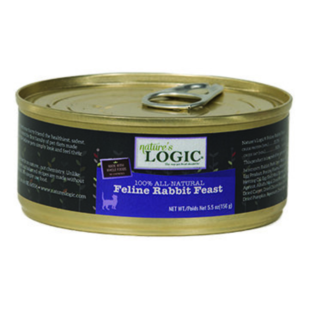 View larger image of Can, Feline Adult - Rabbit Feast - 156 g