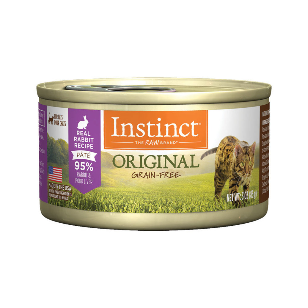 View larger image of Nature's Variety, Instinct Cat Can Rabbit - 3 oz