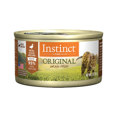 Nature's Variety, Instinct Feline Can, Duck