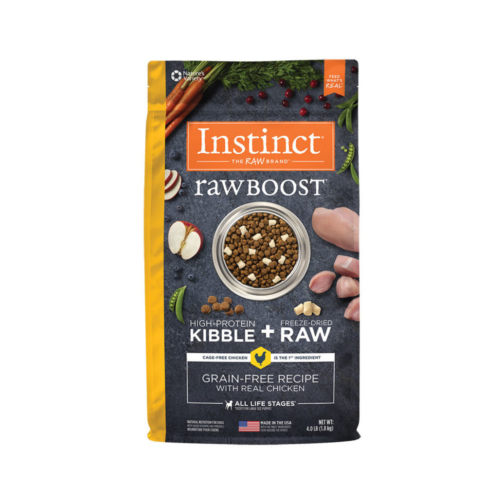 View larger image of Nature's Variety, Instinct Raw Boost Dog Food, Chicken