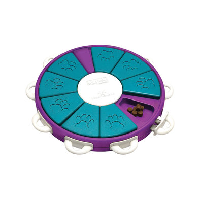 Dog Twister Treat Puzzzle - Purple