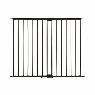Easy Swing & Lock Pet Gate - Matte Bronze