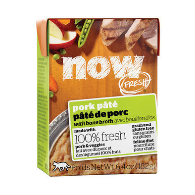 NOW FRESH Grain Free Pork Pâté for cats