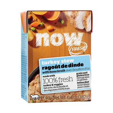 NOW FRESH Grain Free Turkey Stew for cats