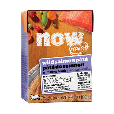 NOW FRESH Grain Free Wild Salmon Pâté for cats
