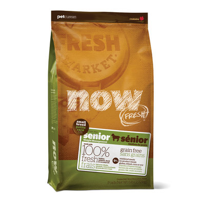NOW FRESH, Grain Free Small Breed Senior Recipe for dogs