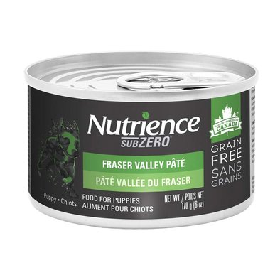 Can, Puppy - SubZero Grain Free - Fraser Valley Pate - 170 g
