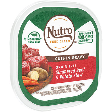 Adult - Beef & Potato Stew Cuts in Gravy - 99 g