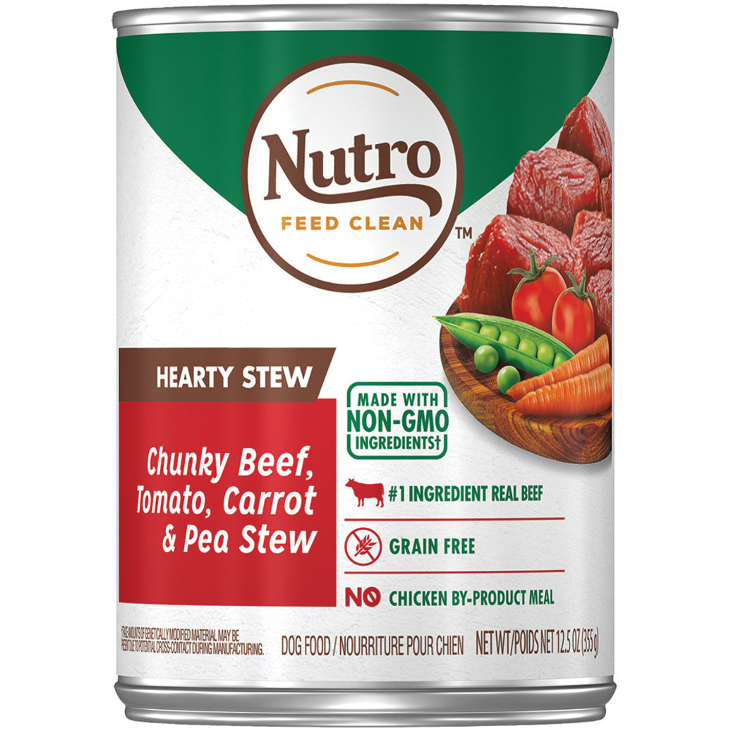 View larger image of Can, Adult - Beef Stew Chunks in Gravy - 354 g