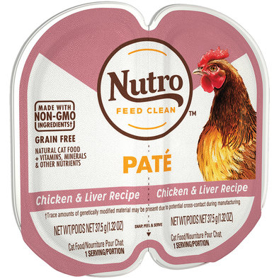 Feline Adult - Perfect Portions - Chicken & Liver Pate - 75 g