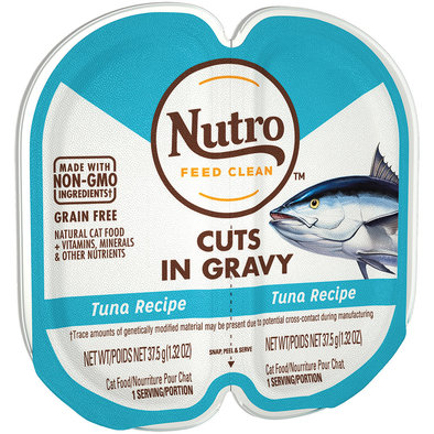 Feline Adult - Perfect Portions - Tuna Cuts in Gravy - 75 g