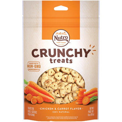 Crunchy Treats, Carrot - 10 oz