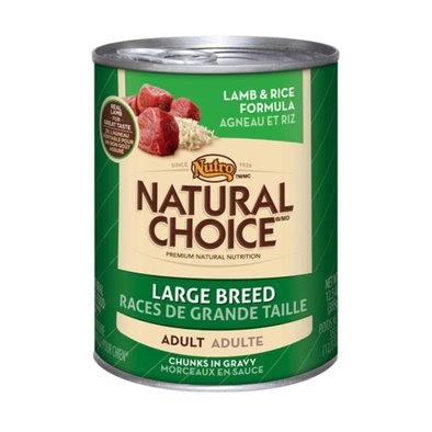 Natural Choice Adult Large Breed Lamb - 12.5 oz