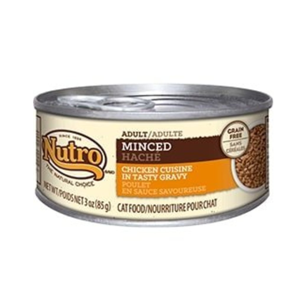 View larger image of Natural Choice Grain Free Adult Cat Can, Minced Chicken - 3 oz