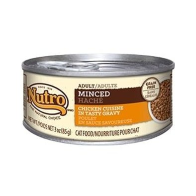 Natural Choice Grain Free Adult Cat Can, Minced Chicken - 3 oz