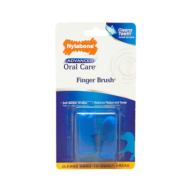 Advanced Oral Care, Finger Brush - 2 Pc