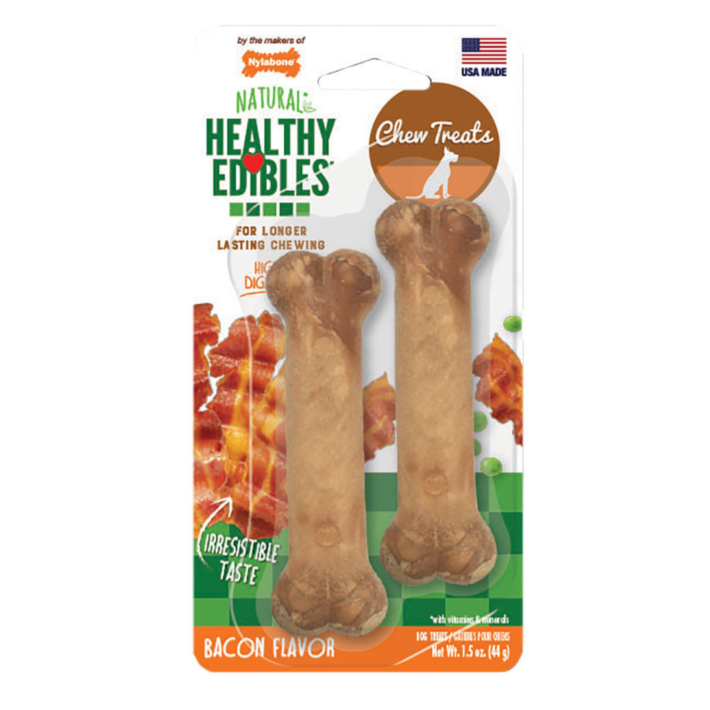 View larger image of Healthy Edibles, Bone, Bacon Flavour