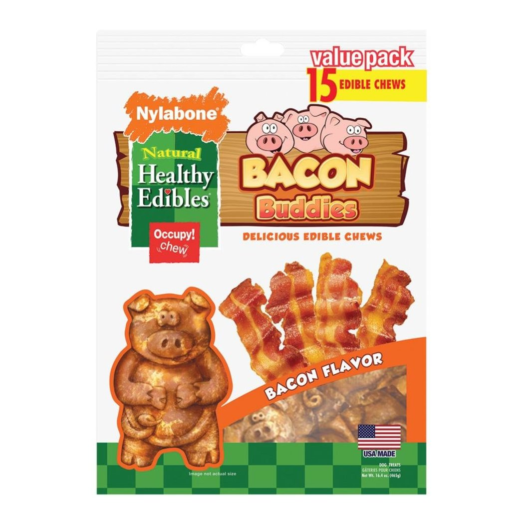 View larger image of Healthy Edibles Pals - Bacon Buddies Pigs - 15 Pk