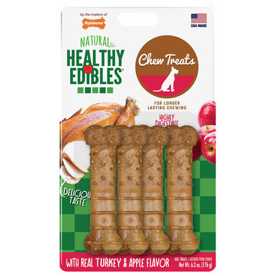 Healthy Edibles - Turkey & Apple - 4 Pk