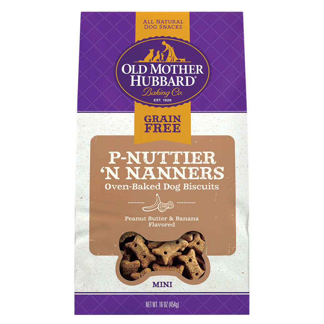 View larger image of Grain Free - P'Nuttier 'N Nanners - Mini - 454 g