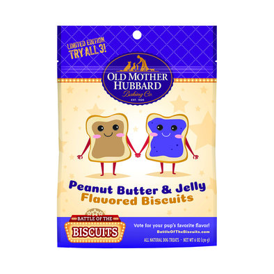 Peanut Butter & Jelly Biscuits - 170 g