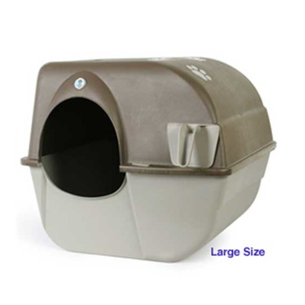 View larger image of Roll' N Clean Litterbox, Multi-Cat - Large