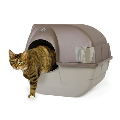 Roll' N Clean Litterbox, Single Cat - Small