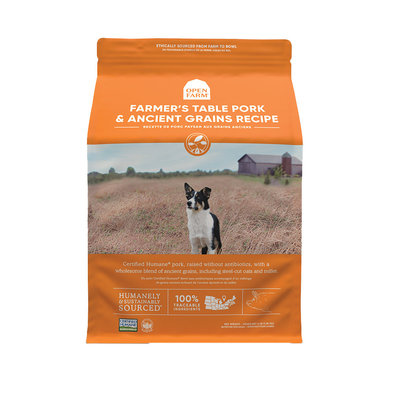 Farmer's Table Pork & Ancient Grains Adult Dog Dry Food