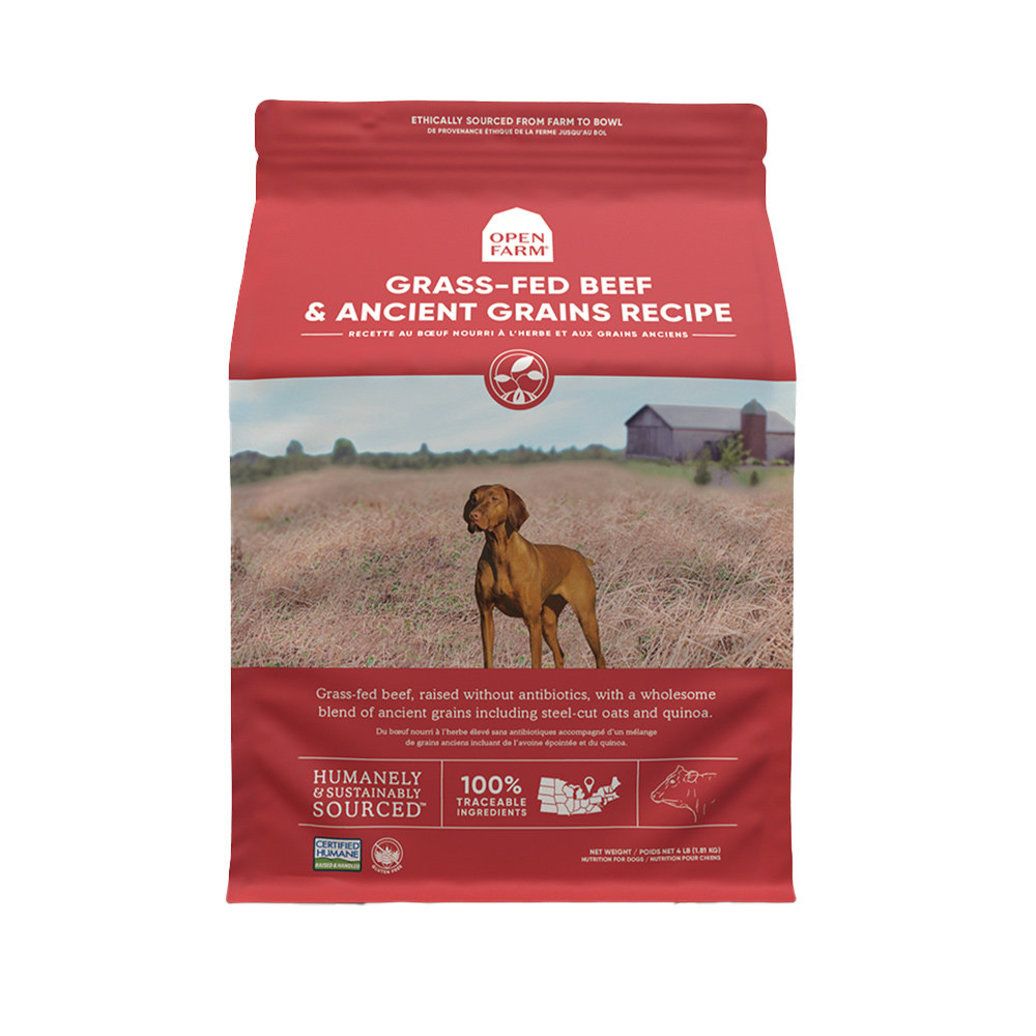 View larger image of Grass-Fed Beef & Ancient Grains Adult Dog Dry Food