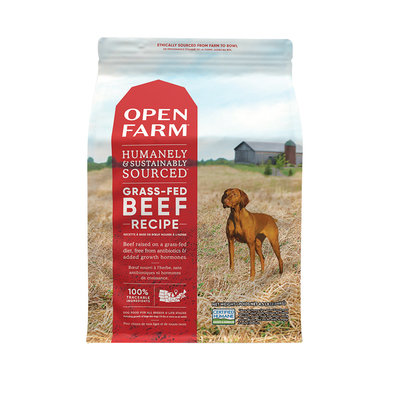 Grass-Fed Beef Adult Dog Dry Food