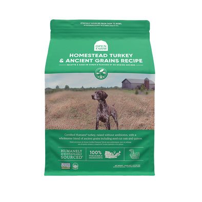 Homestead Turkey & Ancient Grains Adult Dog Dry Food
