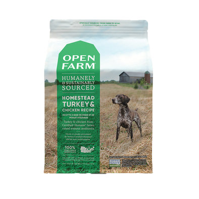 Homestead Turkey & Chicken Adult Dog Dry Food