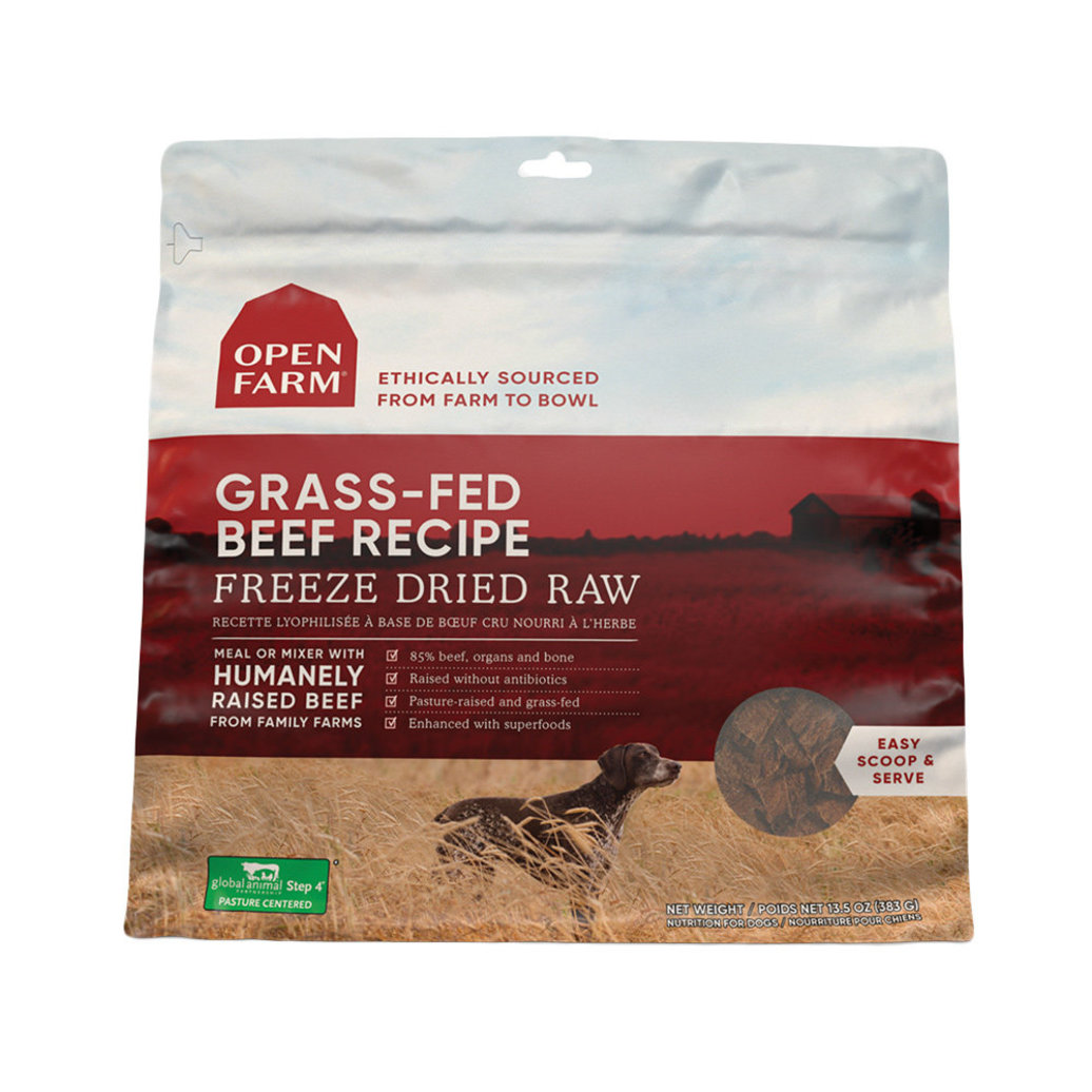 View larger image of Grass Fed Beef Freeze Dried Raw Dog Food