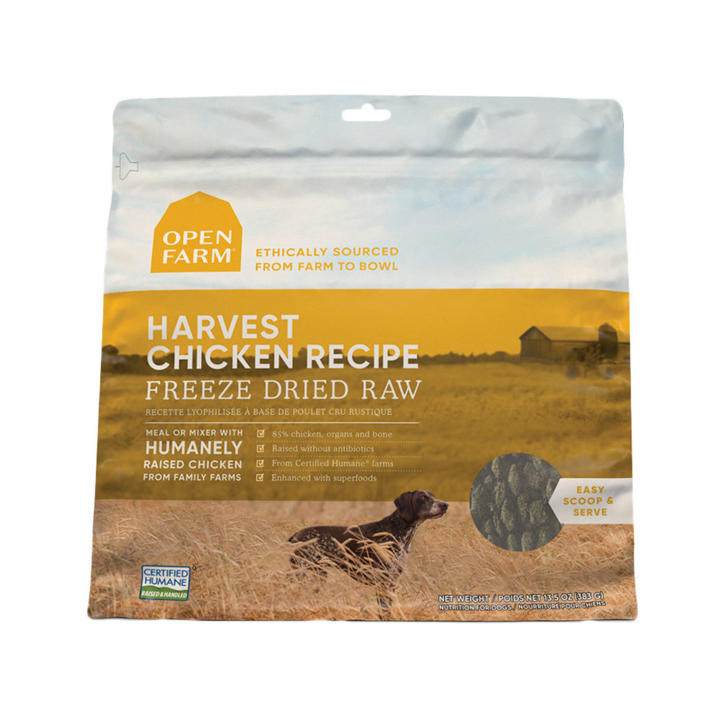 View larger image of Harvest Chicken Freeze Dried Raw Dog Food
