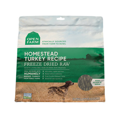 Homestead Turkey Freeze Dried Raw Dog Food