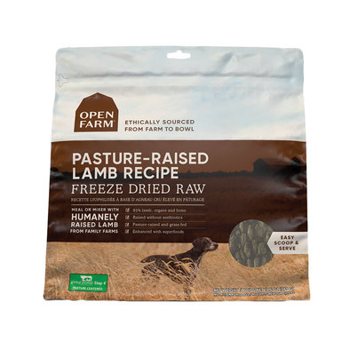 Pasture-Raised Lamb Freeze Dried Raw Dog Food