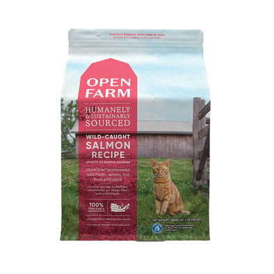 Wild Salmon Adult Cat Dry Food