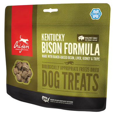 Freeze Dried Dog Treat - Kentucky Bison