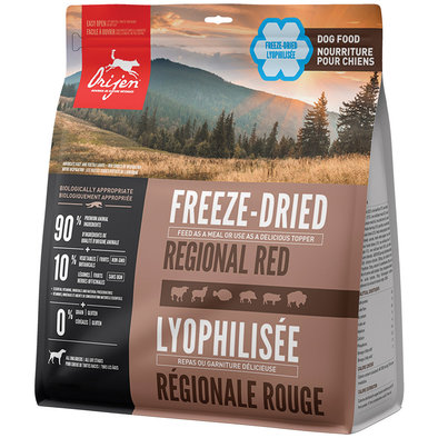 Freeze Dried Dog Food - Regional Red